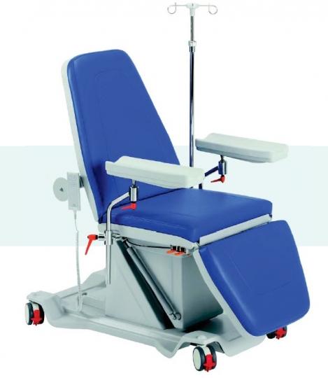 Многофункциональное терапевтическое донорское кресло с электрическим приводом 19-PO300 (вариант 2)