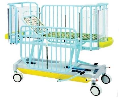 Кровать детская, фиксированная высота ложа, 2 секции 19-FP653