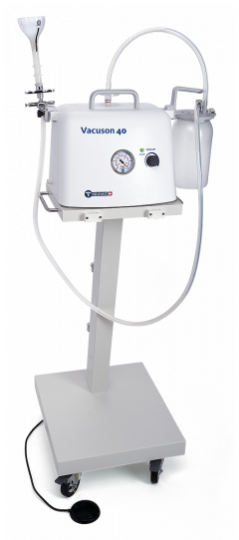 Экстракционный медицинский отсасыватель - вакуумный экстрактор со стойкой 40 E