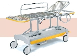 Каталка для перевозки пациентов - гидравлика с гидроподъемником 20-FP647