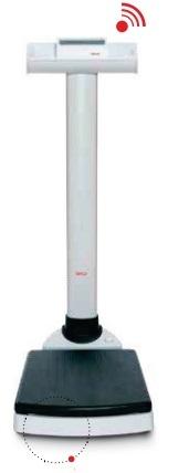 Беспроводные медицинские весы колонного типа, выдерживающие нагрузку до 300 кг Seca 703
