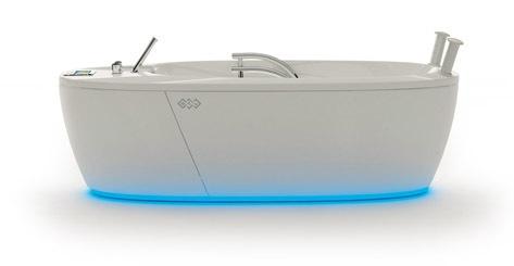 Медицинская многофункциональная оздоровительная ванна с сенсорным экраном BTL-3000 OMEGA 30 Deluxe