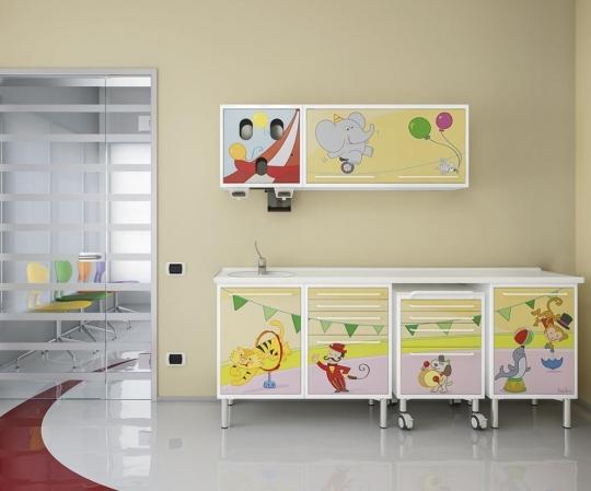 Мебель для оснащения детского стоматологического кабинета