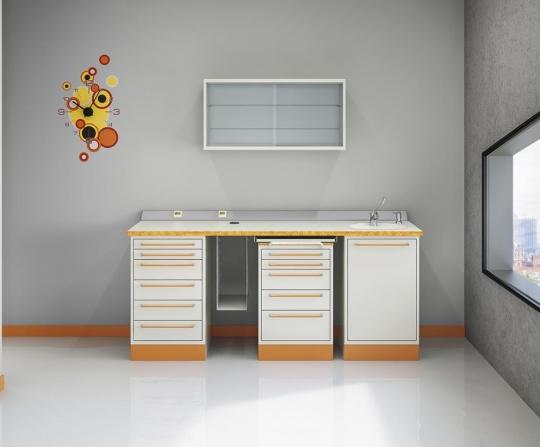 Модульный стоматологический комплект мебели
