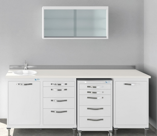 Модульный комплект мебели для стоматологического кабинета