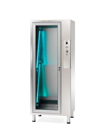 Шкаф для хранения 8 эндоскопов из нержавеющей стали с 4-мя бактерицидными лампами
