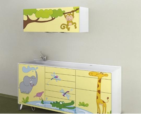 Модульный детский комплект стоматологической мебели