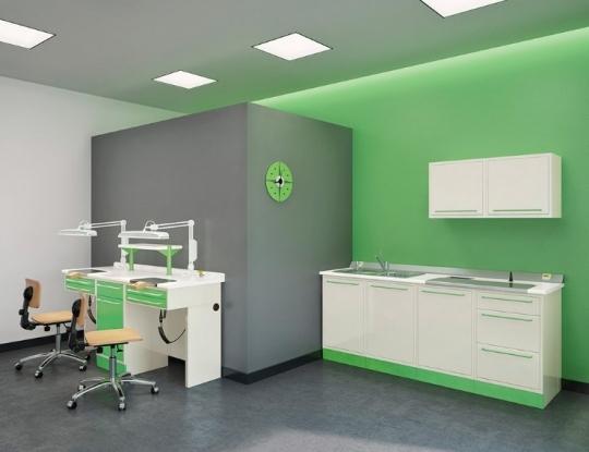 Универсальная базовая зуботехническая мебель