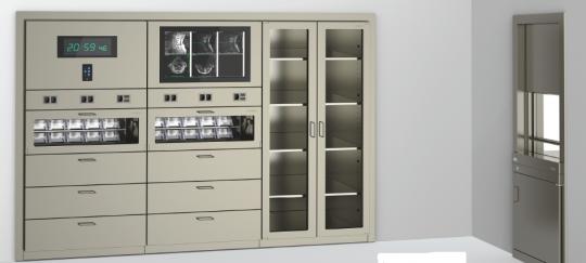 Медицинский модульный шкаф