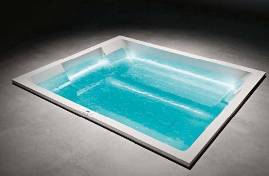 Компактный бассейн для открытых и закрытых помещений - Treesse REST