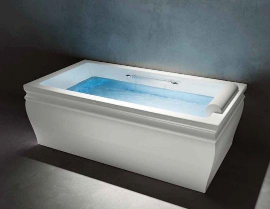 Акриловая ванна прямоугольной формы для СПА - Treesse BLANQUE 1810