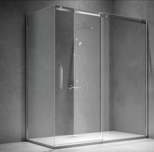Душевая кабина из толстого закаленного стекла - Treesse FIT BOX