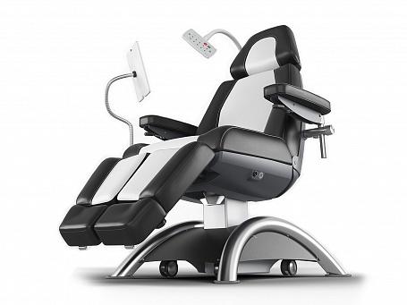 Кресло медицинское (кушетка) для осмотра, обследования, диализа и химиотерапии Lojer Capre RC1