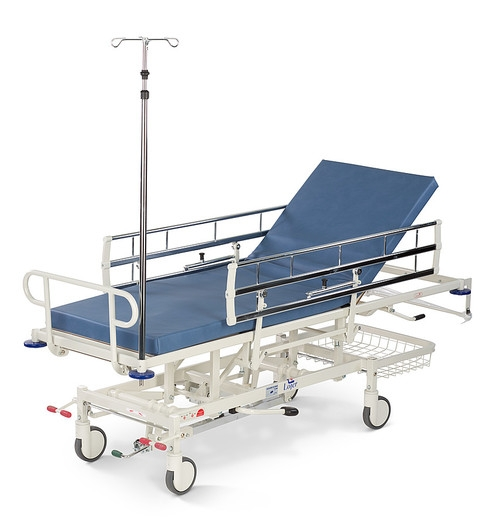 Тележка медицинская для транспортировки пациента Lojer 4315