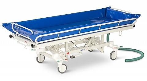 Каталка для мытья пациента - каталка для душа - Lojer 4310