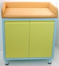 Пеленальный медицинский стол с тумбой 19-FP657