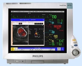 Медицинский монитор пациента Philips IntelliVue MP 60/70/90