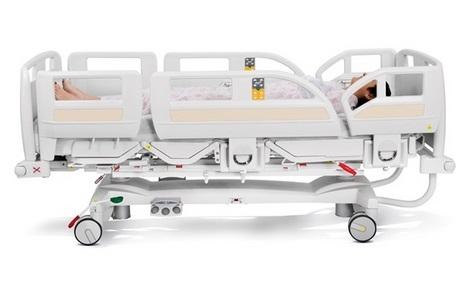 Медицинская многофункциональная кровать для отделений интенсивной терапии LINET Eleganza 3