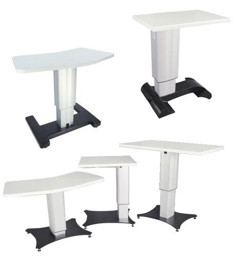 Офтальмологический стол для инструментов с регулируемой высотой ak 106 - ak 130