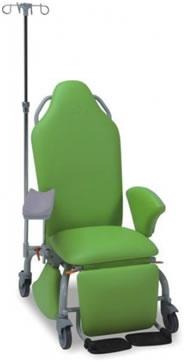 Процедурное донорское кресло без изменения высоты ложа 17-РО140