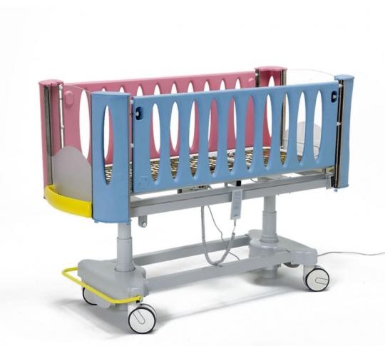 Детская медицинская кровать с регулируемой высотой ложа (электрика) 24-РЕ102