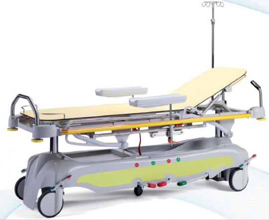 Больничная каталка 2 -х секционная с рентгенопрозрачным ложем 20-FP646/1