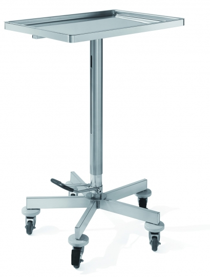 Манипуляционный медицинский столик с гидравлическим изменением высоты 16-FP442 (вариант 2)