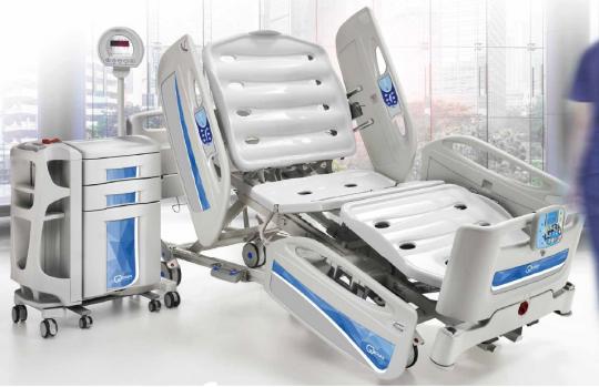 Функциональная реанимационная медицинская кровать с весами EB0800 Givas