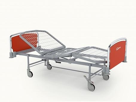 Кровать медицинская функциональная 4-х секционная с фиксированной высотой Givas Theorema FA0215