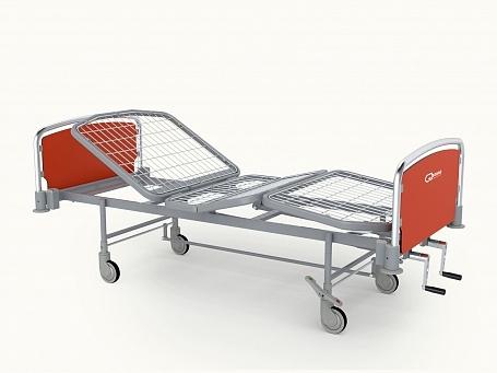 Кровать медицинская функциональная 4-х секционная с фиксированной высотой THEOREMA FA0214