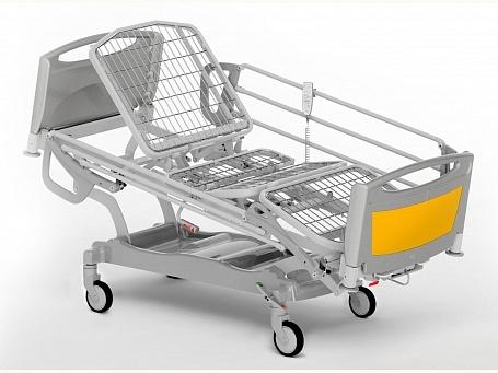 Кровать медицинская функциональная 4-х секционная с изменяемой высотой (электрический привод) для реанимации THESIS EB0310