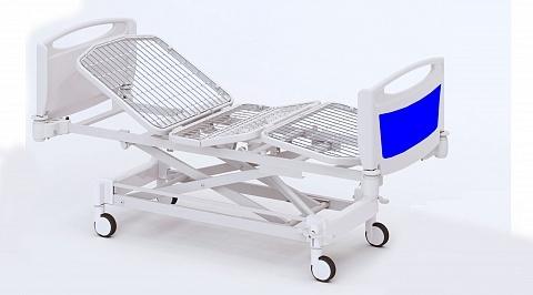 Четырехсекционная функциональная медицинская кровать с изменяемой высотой (электрический привод) THEOREMA EA0130