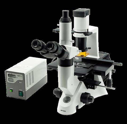 Перевернутый флуоресцентный исследовательский микроскоп XDS-2FL