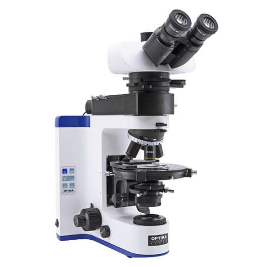 Лабораторный поляризационный микроскоп с проходящим и падающим светом B-1000 POL-1