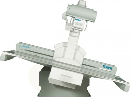 Рентгенодиагностический телеуправляемый стол на 3 рабочих места с детектором - Clinodigit