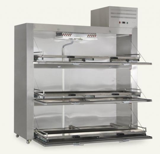 Холодильник для морга с двумя боковыми дверцами MMC 3001