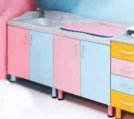 Пеленальный стол с ванночкой 24-PE220