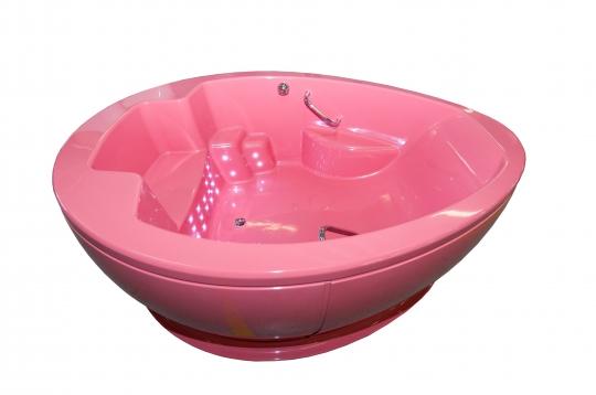Овальная ванна для перинатальных упражнений и родов в воде