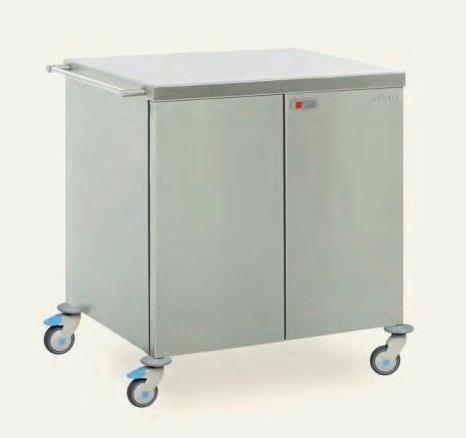 Медицинская тележка для стерильных изделий MSU 2140