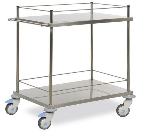 Медицинский стол для инструментов (с бортиками) MTAB 2122