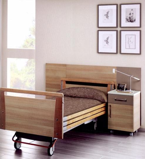 Медицинская палатная мебель из дерева для клиник, санаториев и госпиталей VERBENA