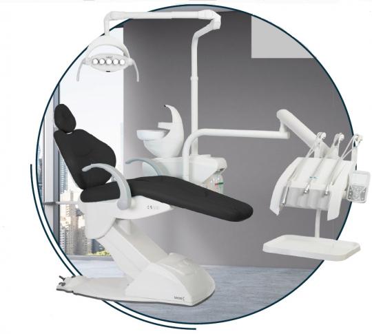 Профессиональная стоматологическая установка Syncrus S500 Gnatus
