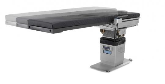 Ангиографический операционный стол для С-дуги OPT