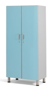 Медицинский палатный шкаф с 2 отделением из биламината 13-FP182 (Вариант 1)
