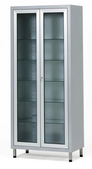 Медицинский металлический шкаф из окрашенной стали 13-FP244