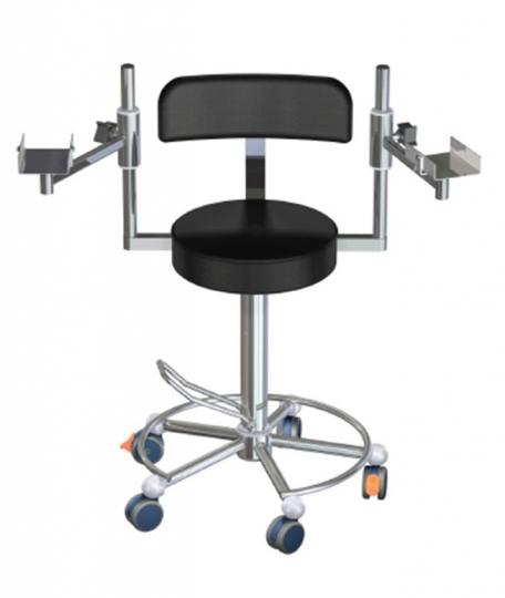 Медицинский функциональный стул для хирурга L03-SD4545/RA (Вариант 2)