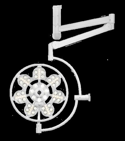 Медицинский светильник потолочный однокупольный ЭМАЛЕД 500