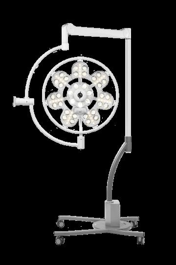 Хирургический передвижной светильник ЭМАЛЕД 500П