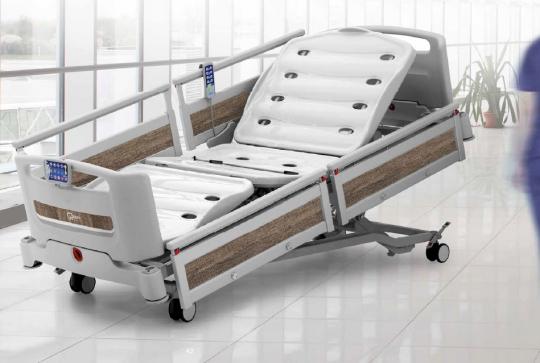 Больничная реанимационная функциональная медицинская кровать EB0210