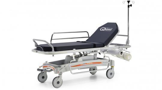 Медицинская каталка гидравлическая для перевозки пациентов GIVAS BS 1500